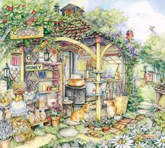 kim jacobs artist | Stave Puzzles: Cobblestone Apiary (Traditional)