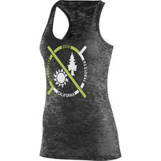 Reebok Her 2015 CrossFit Open Tank ($20) ❤ liked on Polyvore featuring activewear, activewear tops, black, reebok activewear, reebok and reebok sportswear
