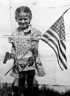 Yes The Gun Came After the Flag Because There Sure Was A Lot of People Who Wanted to Take What It Stands For