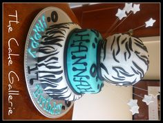 professional  volleyball cakes | Zebra Print Cake — Volleyball