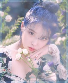 How to dye your hair the Pantone 2020 colour of the year — British Glamour - Iu Twitter, Korean Girl, Asian Girl, Iu Hair, Snsd Yuri, Pantone 2020, Idole, Iu Fashion, Korean Artist
