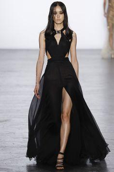 Tadashi Shoji Fall 2016 Ready-to-Wear Fashion Show - arm chain by Sequin