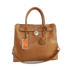 Michael Kors Python Continental Large Brown Tote