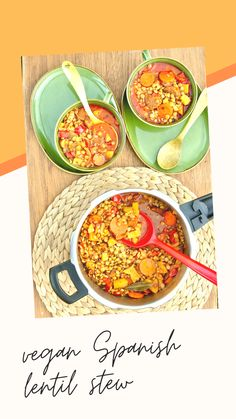 Rich and nutty Lentejas de la Armuña with vegetables and vegan chorizo. Try our delicious Spanish lentil stew recipe. Using A Pressure Cooker, Pressure Cooker Recipes, Vegan Chorizo, Lentil Stew, Green Lentils, Vegetable Puree, Lentil Recipes, Food Staples, Vegan Dinners