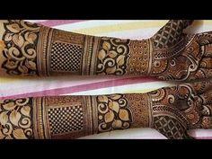 ❤️How To Make Henna Mehendi Designs❤️ Bridal Mehendi❤️Mehndi designs for...