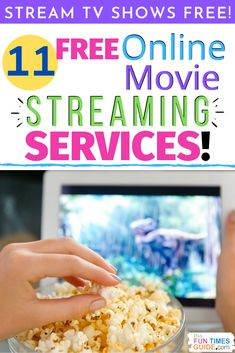 It's easy to watch free movies & TV shows online! Here's how to get rid of cable and watch everything for FREE! The top 11 free online movie streaming sites