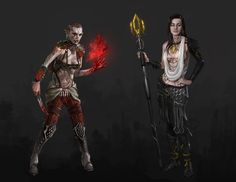 Artist brings Mass Effect cast into the Dragon Age universe | Screenshots | PC Gamer
