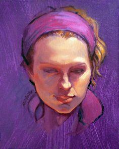 "Saatchi Online Artist: Roz Mcquillan; ""Portrait of Phoebe"":)!"
