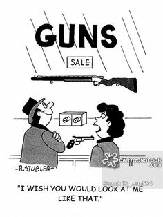 Only 1 private gun buyer denied, arrested in voluntary ... |Gun Show Cartoons