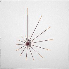 nice Geometric Tattoo - #314 The sun shell – A new minimal geometric composition each day...