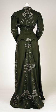 Dress, 1901-1903. American. Wool. Met Museum