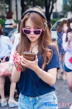 Girl's Day Minah Korean Women, South Korean Girls, Korean Girl Groups, Girls Day Minah, Girl Day, Kpop Outfits, Korean Outfits, Girls Day Members, Hyeri