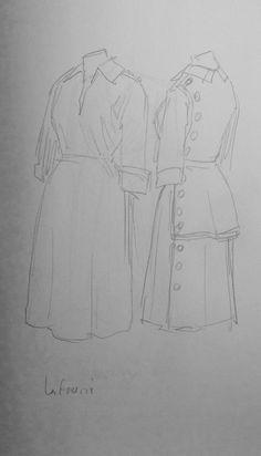 Robe, Jeanne Lafaurie