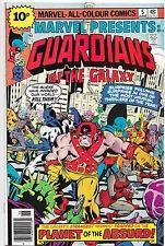 Marvel Presents #5 Guardians Of The Galaxy Bronze Age Marvel Comics NM-