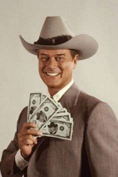 Actor Larry Hagman