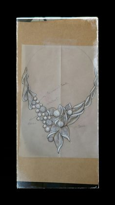 Bilge SAR Aysel SHARR jewellery sketch