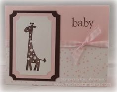 Stampin'Up! Wild about you, baby girl www.midmostamping.com