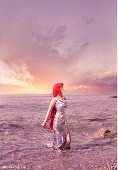 Human Ariel. The Little Mermaid by =Vaishravana on deviantART