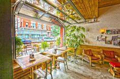 TownHall restaurant, bar, and urban cafe by Anise E. Nakhel, Cleveland – Ohio