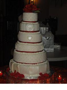 Wedding Cake, swag cake