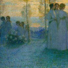Henri Le Sidaner (1862–1939), La domenica (1898). - Google Search