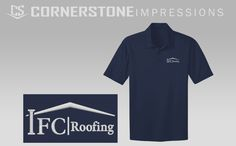 Do you own a business you want the world to see? Dress to impress in custom embroidered polos. We can turn your logo into an embroidery ready file and provide the shirts! The work is done for you, all you have to do is ask. click the link and request a quote. :)