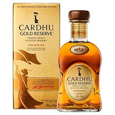 Cardhu Gold Reserve Single Malt Scotch Whisky x l) Cardhu Whisky, Bourbon Whiskey, Scotch Whisky, Barris, Gold Reserve, Single Malt Whisky, Whiskey Bottle, Chocolate, Alcohol
