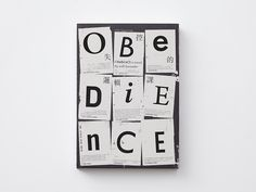 Obedience > more Client: Faces Publishing Year: 2014
