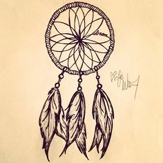 Gallery For > Dreamcatcher Drawing Tumblr Easy