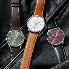 Are you looking for the perfect gift for a special occasion or milestone moment? The Hamilton Jazzmaster Thinline is a Swiss watch that has a range of dial and strap color combinations, as well as offering the quality and craftsmanship we're known for and it's a perfect gift for milestone moments.