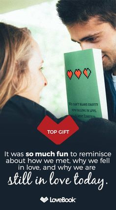 Turn your love story into a one-of-a-kind book that's sure to be the greatest gift they'll ever receive. Express all the reasons why you love them when you create a personalized LoveBook.