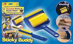 Available Worldwide! Over 200,000+ Sold - Get Yours Today!  CYBER MONDAY SALE! Sticky Buddy is the best solution to remove pet hair easily: simply roll, wash a