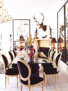 swooning // Jean-Pierre Heurteau Dining Room