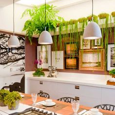 45 Hortas Incríveis na Decoração da Cozinha!