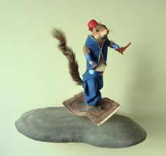 Whimsicle Fuckery / Regretsy / Page 3 (rogue taxidermy,from regretsy,no animals killed,to make this,minn. association of rogue taxidermists,bad taste,merit badge,humor,alladin)