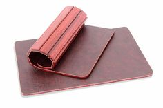 Jarrah Roll-Up Placemats   Australian Woodwork - FREE Gift Wrapping - FREE Handwritten Gift Card - Fast Same Day Shipping - FREE Shipping for orders over $100 - Our usual Money Back Quality Guarantee!