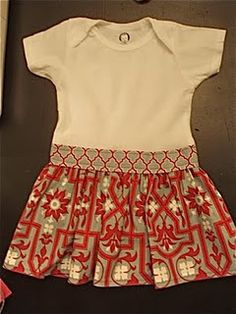 another onesie dress tutorial