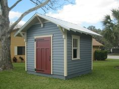 Craftsman Shed - 8'x10' by Historic Shed