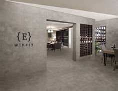 Edge a concrete look porcelain tile from Florida Tile. Floor and Wall tile. Flooring.      Products: Edge, Taupe