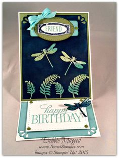 This card was made after I found a technique called Emerging Colors on Leena Girsa's blog. She made some beautiful cards and thought I wanted to play with this technique. The stamp set, Awesomely Artistic, had come to mind so I wanted to try it out. I haven't had any time to… Continue reading