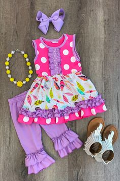 Kids Outfits Girls, Little Girl Outfits, Cute Outfits For Kids, Little Girl Fashion, Toddler Girl Outfits, Toddler Fashion, Kids Fashion, Toddler Girls, Baby Kids Clothes