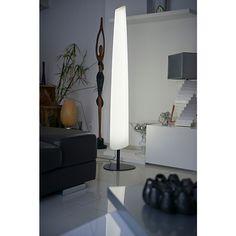 Bay Totem lumineux blanc à LED H160cm