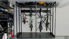 Residential, Garage, Bikes, Sport Equipment, Garden Tools, Tools, Skis, Snowboard, Windsurfing Gear, Helmets, Skates, Sport Balls, Home, Storage, Racks, Tires, Box, Boxes, Shelving, Shelves, Shelf, Mobile