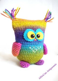Crochet Owl Pattern Instant Download Crochet