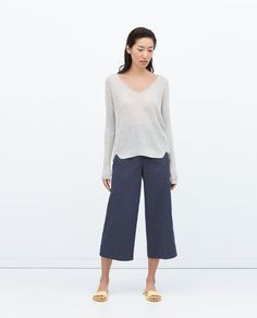 ZARA - NEW THIS WEEK - SHIMMER SWEATER