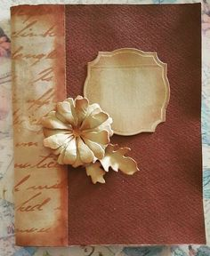 BellesCreations.gr: Vintage A5 notebook A5 Notebook, Albums, Creations, Vintage, Decor, Decoration, Vintage Comics, Decorating, Deco