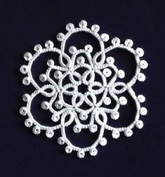 Jennifer Williams_Tatted Snowflakes_Karen