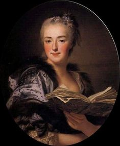 """""""Marie Jeanne Buzeau""""  Alexander Roslin"""