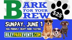 "RiverDogs Host ""Bark for Your Brew"" on June 1 