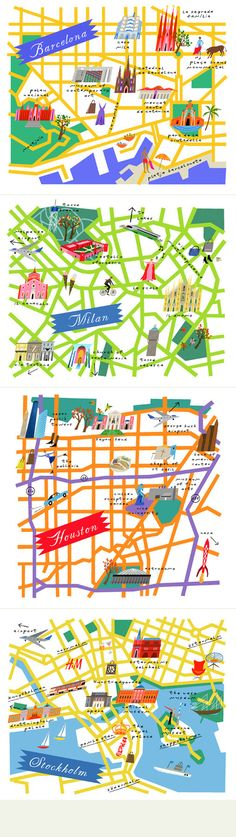 "More Lena Corwin maps from her 2011 book ""Maps."""